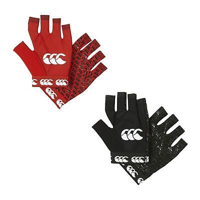 Canterbury Pro Grip Mitt Silicone Fingerless Spandex Gloves