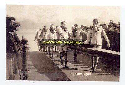 rp02233 - Oxford Rowing Team in 1909 - photo 6x4