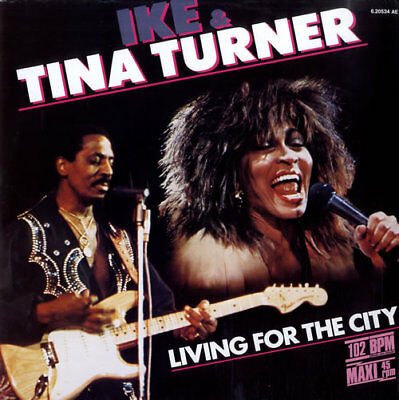 """Ike & Tina Turner Living For The City -... 12""""  record (Maxi) GER"""