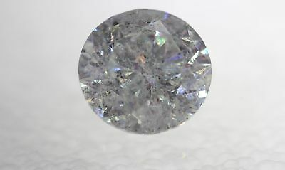 0.28 Carat H Color Round Brilliant Enhanced Natural Loose Diamond For Ring 4.09m