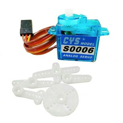 1x RC Servo mini micro 6g 6.0g for Rc helicopter Airplane Foamy Plane Electric B