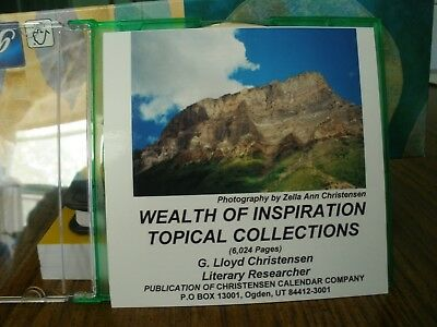 6024 pages Inspirational, Motivational, Religious Quotes, 238 Topics, CD Book