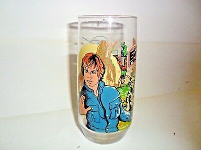 Empire Strikes Back Luke Skywalker  Star Wars Burger King Glass 1980 MINT