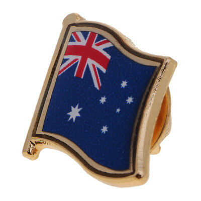 1x Australia National Flag Pin Badge for Man Woman Lapel Badge Country Pride