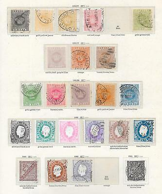 Portuguese Angola stamps 1870 Collection of 22 CLASSIC stamps HIGH VALUE!