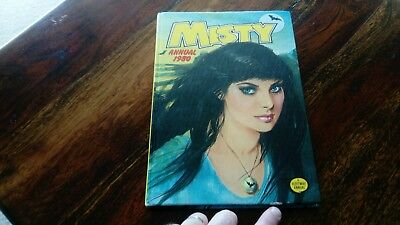 Misty Annual 1980  Good Condition Very Rare Spooky/Fantasy Book (Free P&P)
