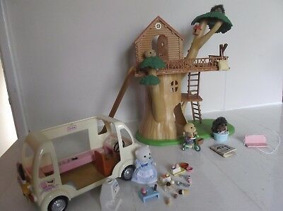 Sylvanian Family Treehouse Bundle