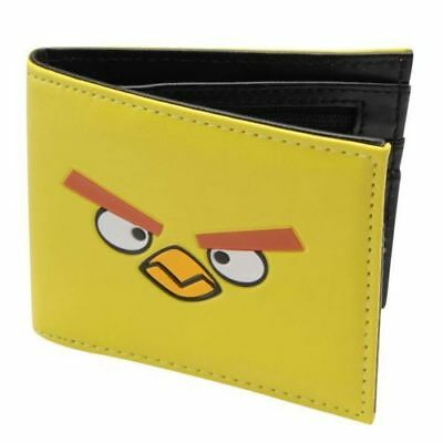 Angry Birds Wallet PU Faux Leather Purse - Yellow