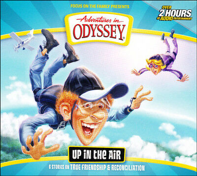 Adventures in Odyssey: #63 Up in the Air (6 Episodes on 2 CDs)