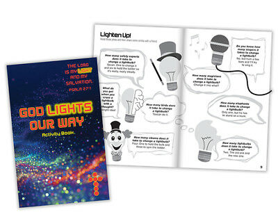 Lord is My Light Activity Book