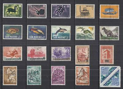 y2735 San Marino / A Small Collection  Early & Modern  Lhm Used