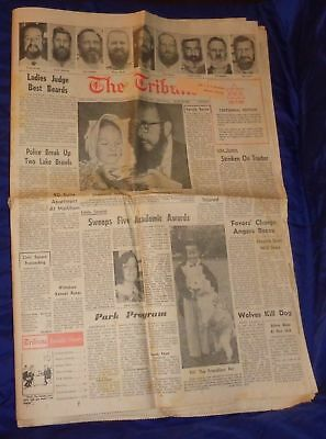 SE492 Stouffville Markham Uxbridge ON Tribune Newspaper June 29 1967 Centennial