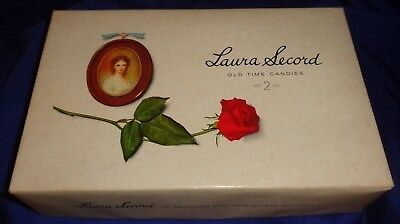 SE565 Vtg Laura Secord Candies Chocolates Box Ad Toronto ON Montreal QC