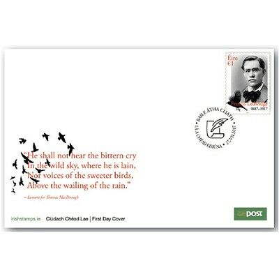 Ireland 2017 - Centenary of the death of Francis Ledwidge FDC
