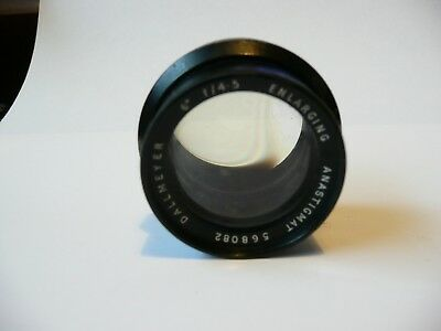 "Dallmeyer 6""  f4.5 enlarging anastigmat lens 568082"