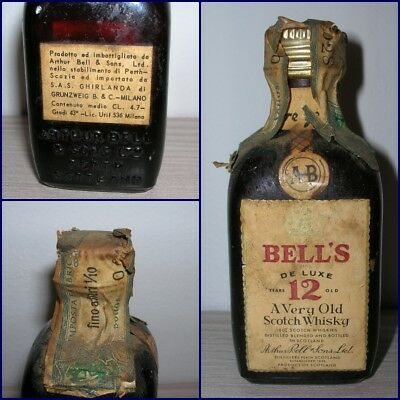 MINIATURA COLLECTION WHISKY BELL'S 12 YEARS OLD cl.4,7 gr.43