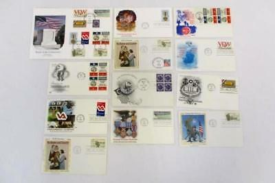 Lot of 10 FDC / FDI Unknown Soldier Honorable Servicemen 1946-1996 Collection
