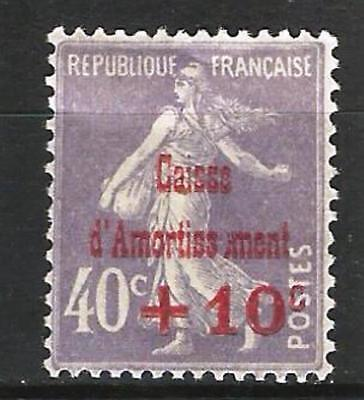 Caisse D'Amortissement  N° 249a  . Neuf *