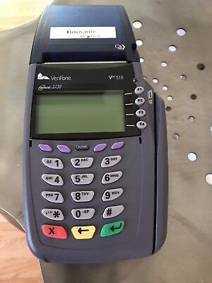 Pre owned Verifone VX510 Credit Card Terminal with Power Supply   Omni 3730