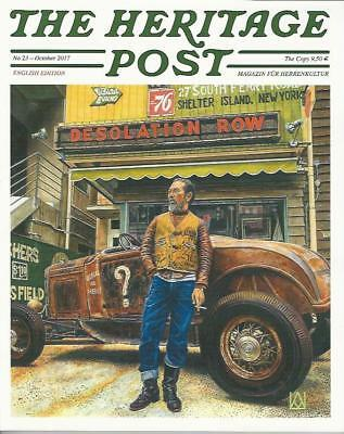The Heritage Post - Issue 23 / Oct.17 (NEW),*Post included to UK/Europe/USA/Can