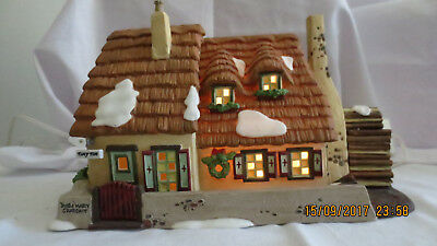 Dept 56 Dickens Village Series - The Christmas Carol Cottage #58339 RETIRED