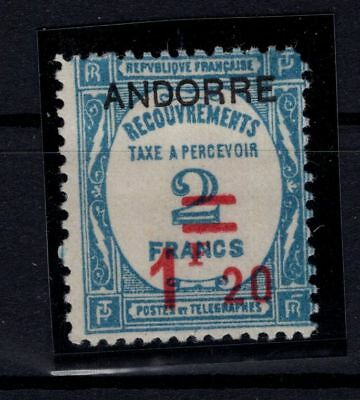 P36666/ Andorre Andorra – Maury # T13 Neuf * / Mint Mh 100 €