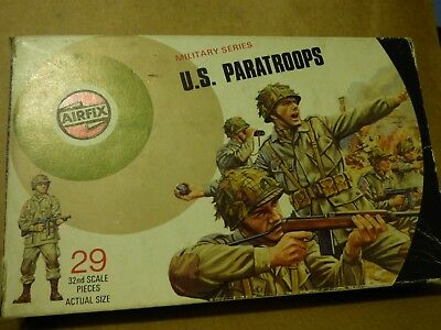 Airfix 1/32 U.S. Paratroops Target Box  issue box