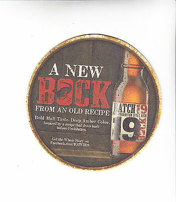 Bock Beer Batch 19 Coasters 100 Count Full Sleeve New Sealed