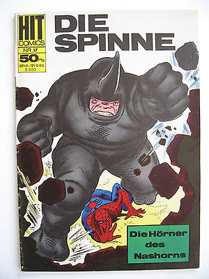 HIT Comic Nr.17, Die Spinne, BSV/Williams, Zustand 2+