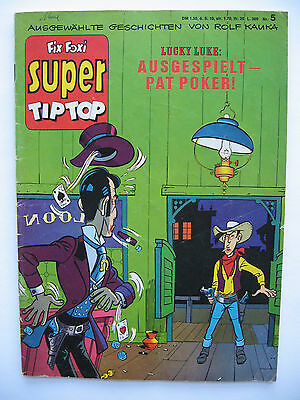Super TipTop Nr.5, Gevacur, Lucky Luke, Zustand 2-3