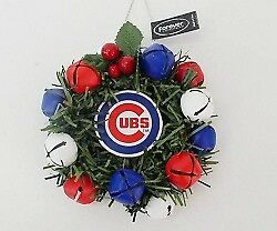 Chicabo Cubs Christmas Wreath Ornament