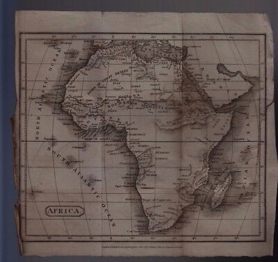 1813 Map of Africa