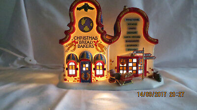 Dept 56 North Pole Series - Christmas Bread Makers #56393 Retired