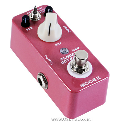 Mooer Tender Octaver MKII Octave Guitar Pedal w/ True Bypass Micro