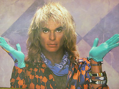 David Lee Roth, Van Halen, David Coverdale, Whitesnake, Double Full Page Pinup