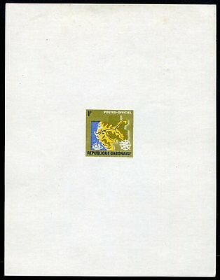 GABON  O1  Beautiful Mint Never Hinged Deluxe Sheet  UPTOWN 26732