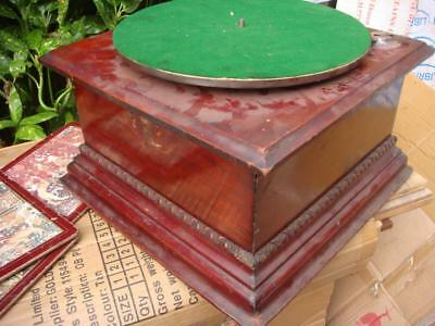 Vintage Antique Old  Gramophone  Motor Come Inside The wooden case  For Spare