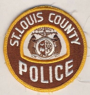 StLouis County Missouri Police Patch Insignia Hat Uniform Jacket Great Condition