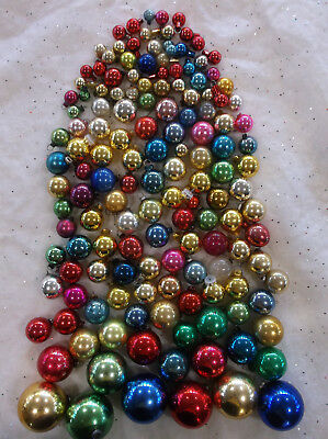 Vntg Feather Tree Christmas Ornaments: Lot of 150-Japan-Shiny Brite- WWII
