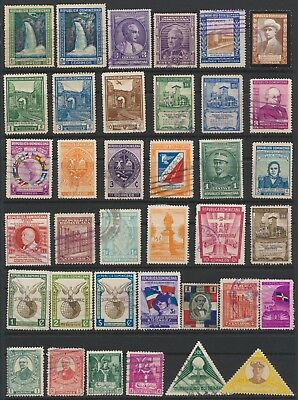 Dominican Republic Stamps - Singles - Mint & Used - Lot F-2