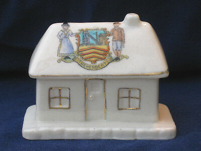 Swan Crested China Country Cottage - Treherbert