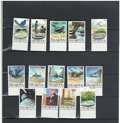 NIUAFO`OU, Stamps, Nature, Birds, Space, Dino, Vulcan, MINT NH - SPECIMEN -