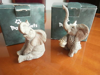 """2 X -Tuskers, """"PAW PRINTS""""--TIFFANY---HAYLEY--- VGC, Boxed"""