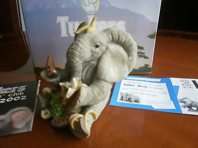 Tuskers, ELEPHANT  EATING  FRUIT-- VGC, Boxed