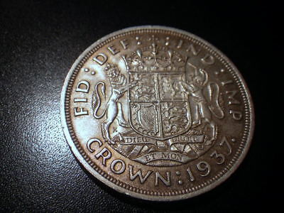 George VI 1937 Crown (VF)