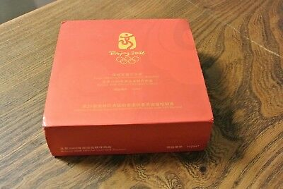 BEIJING 2008 OLYMPIC GAMES COMMEMORATIVE MEDALLION - FUWA - cased(PM514)