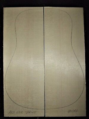 Guitar Luthier Tonewood HIGH GRADE ADIRONDACK RED SPRUCE TOP SOUNDBOARD Set