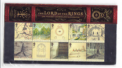 GB postage stamps -2004 'Lord of the Rings' Presentation Pack