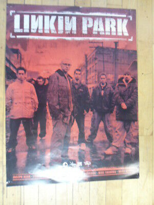 Linkin Park Warner Brothers Records 24 x 18 Promotional Poster - Rare Promo Only