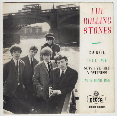 The ROLLING STONES * Carol * 1964 SPAIN EP *